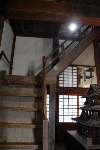 宇和島城の内部