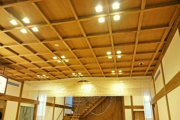 木造の天井