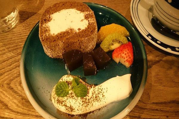 ケーキのお皿