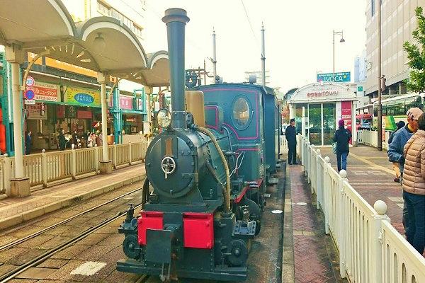 スタンバイの坊ちゃん列車