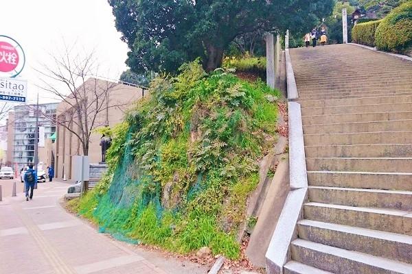 松山城ロープウェイ乗場