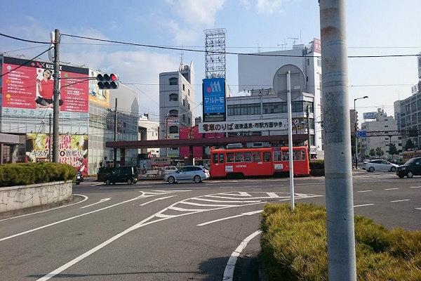 前方JR松山駅前